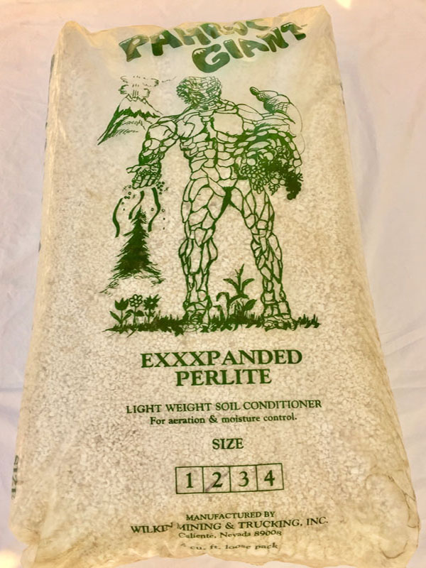 4 CU FT BAG EXPANDED PERLITE